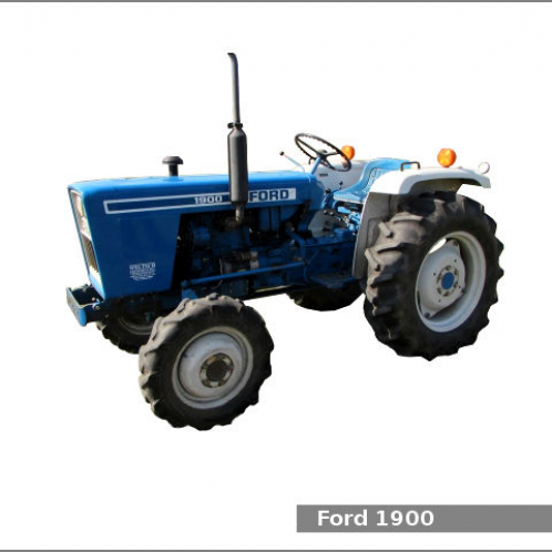 Ford 1900 (Brevemente Disponivel)